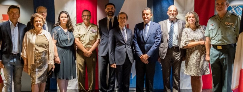 Asistentes al evento de la embajada de Francia en Sevilla