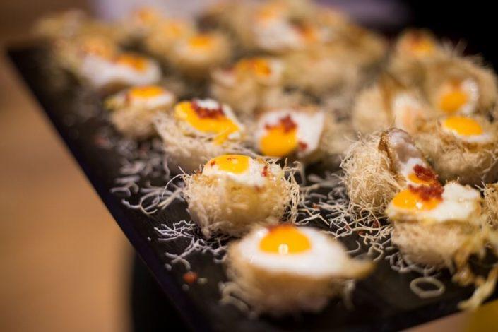 Cóctel de alta cocina para evento mice en Sevilla