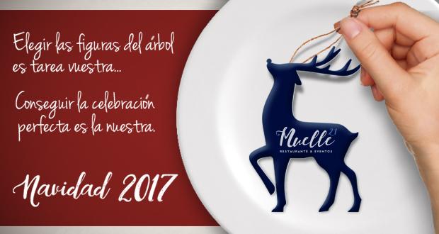 Banner de promoción navidad en Sevilla