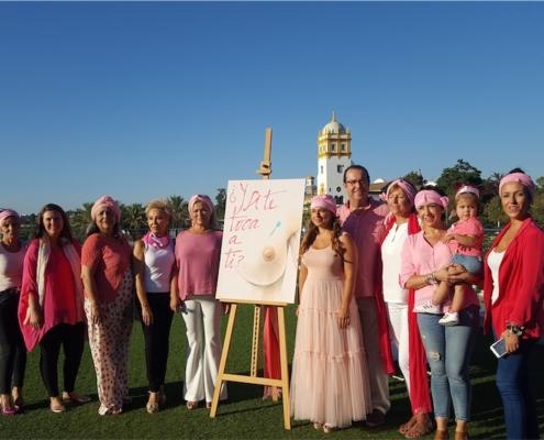 presentacion contra el cancer de mama muelle 21