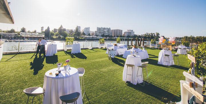Terraza para eventos al aire libre en Sevilla
